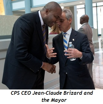 Blog 5 - CPS CEO Jean-Claude Brizard and the Mayor