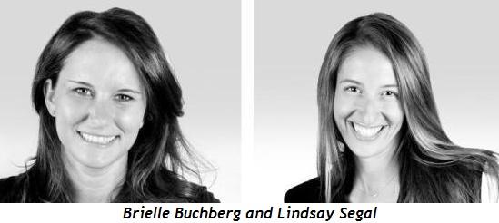 Brielle Buchberg and Lindsay Segal