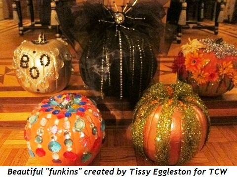 """Beautiful """"funkins"""" created by Tissy Eggleston for TCW Mag Party"""