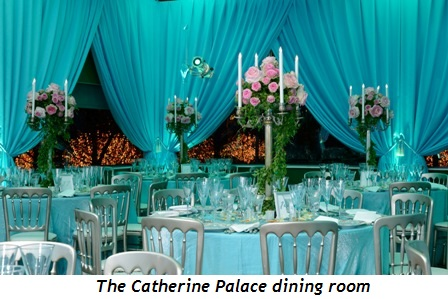 4 - The Catherine Palace dining room