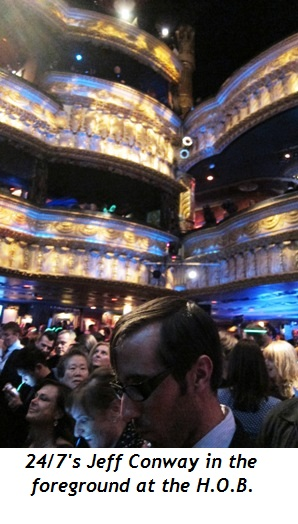 13 - 24-7's Jeff Conway in foreground at House of Blues