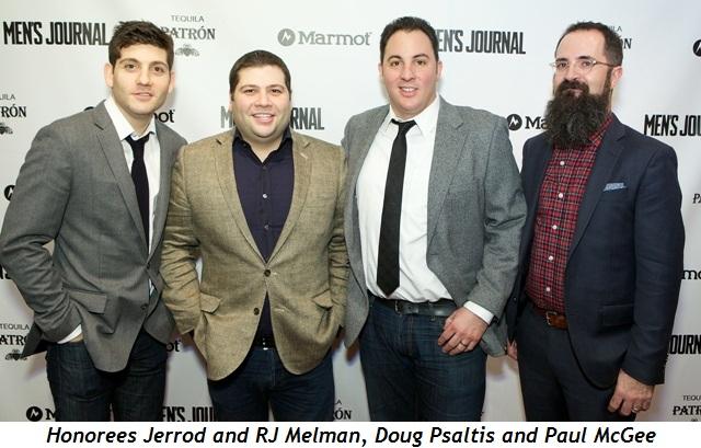 7 - Honorees Jerrod and RJ Melman, Doug Psaltis, Paul McGee