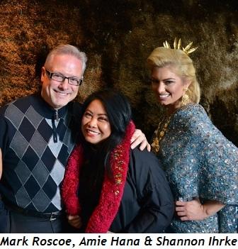 5 - Mark Roscoe, Amie Hana and Shannon Ihrke