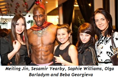 4 - Meiling Jin, Sesamir Yearby, Sophie Williams, Olga Barladym, Beba Georgieva