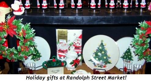 2 - Holiday gifts at Randolph Street Market!