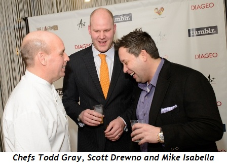 3 - Chefs Todd Gray, Scott Drewno and Mike Isabella