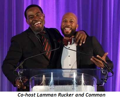 7 - Co-host Lamman Rucker and Common