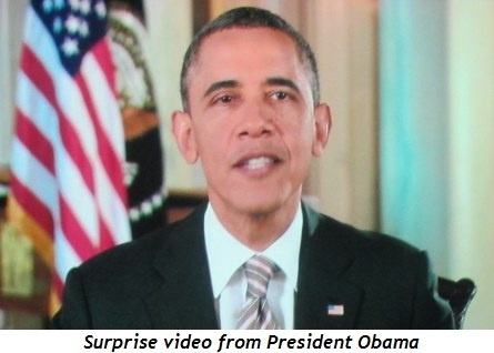 11 - Surprise video from President Obama
