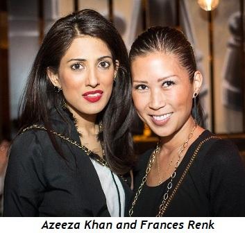 4 - Azeeza Khan and Frances Renk