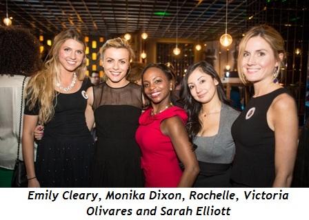 5 - Emily Cleary, Monika Dixon, Rochelle, Victoria Olivares, Sarah Elliott