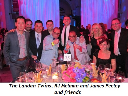8 - The Landan Twins, RJ Melman and James Feeley and friends