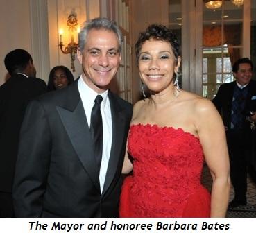 11 - Mayor and honoree Barbara Bates