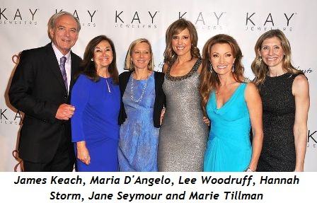 1 - James Keach, Maria D'Angelo, Lee Woodruff, Hannah Storm, Jane Seymour, Marie Tillman2