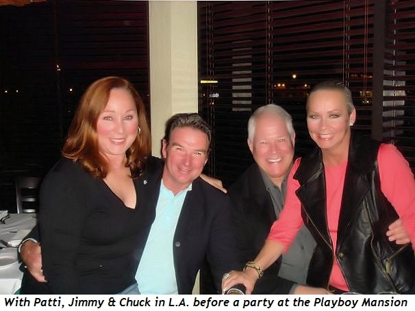 3 - With Patti and Jimmy in L.A. before Mansion party