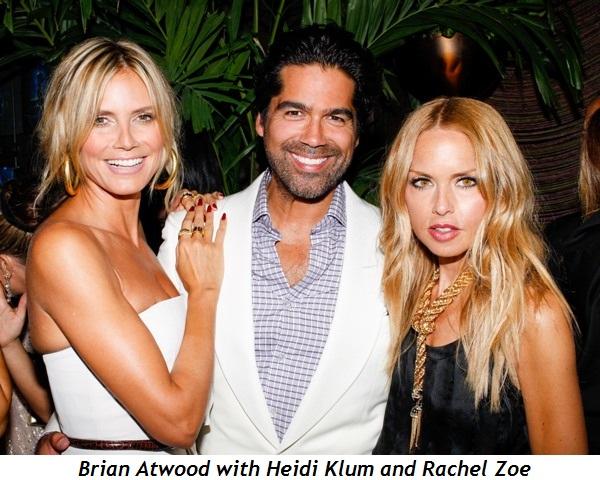 Blog 1 - Brian Atwood with Heidi Klum and Rachel Zoe