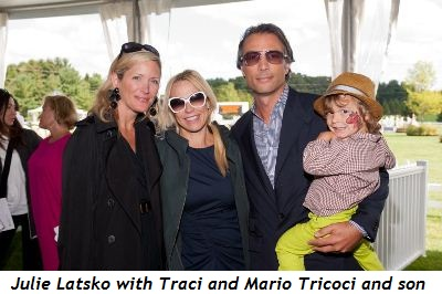 Blog 5 - Julie Latsko, Traci and Mario Tricoci and family