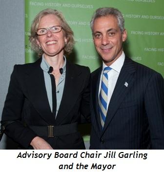 Blog 9 - Advisory Board Chairman Jill Garling and the Mayor