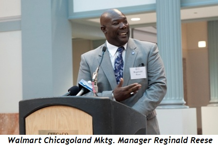 Blog 10 - Walmart Chicagoland Marketing Manager Reginald Reese