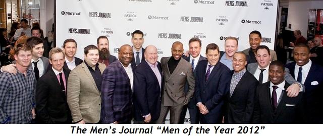 """2 - Men's Journal """"Men of the Year 2012"""""""