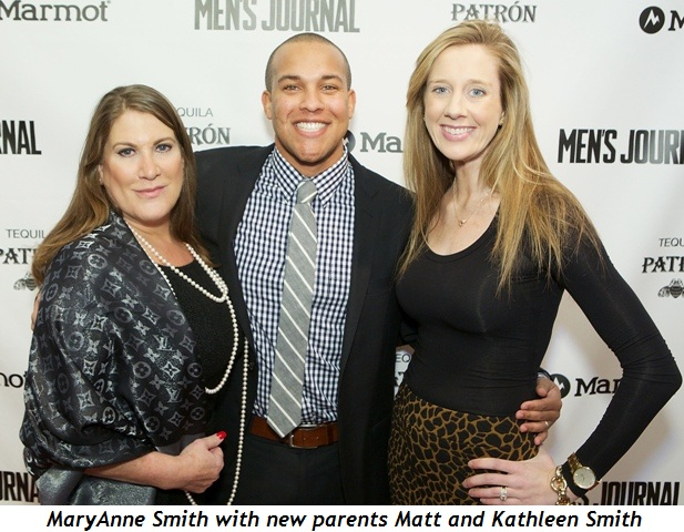4 - MaryAnne Smith with new parents Matt and Kathleen Smith