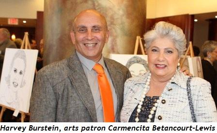 6 - Harvey Burstein with arts patron Carmencita Betancourt-Lewis