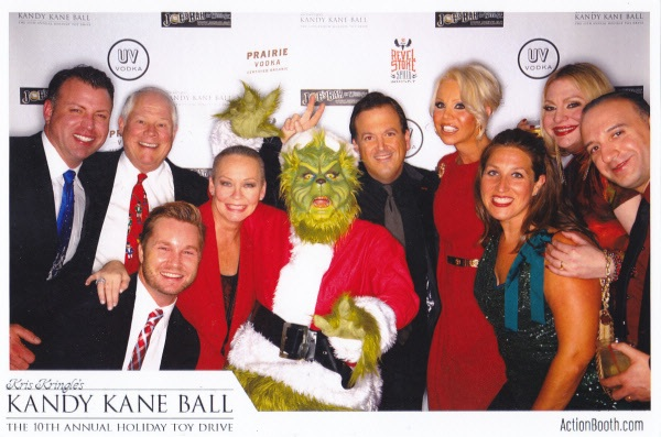 9 - With friends at Kandy Kane Ball