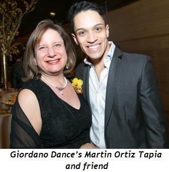 6 - Giordano Dance's Martin Ortiz Tapia and friend