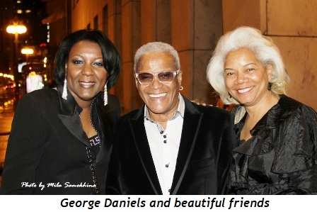 6 - George Daniels and beautiful friends