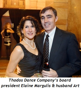 3 - Thodos Dance Company's board president Elaine Margulis and husband Art