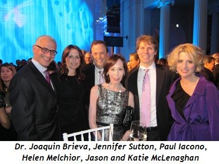 2 - Dr. Joaquin Brieva, Jennifer Sutton, Paul Iacono, Helen Melchior, Jason and Katie McLenaghan