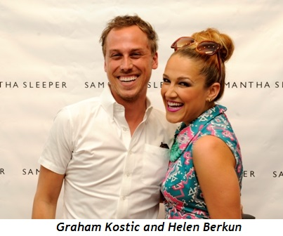 3 - Graham Kostic and Helen Berkun