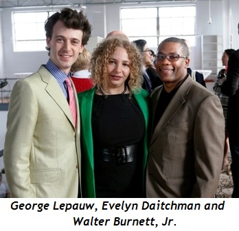 2 - George Lepauw, Evelyn Daitchman, Walter Burnett Jr.