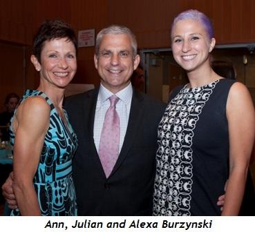 5 - Ann, Julian and Alexa Burzynski