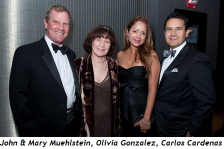 1 - John and Mary Muehlstein, Olivia Gonzalez and Carlos Cardenas