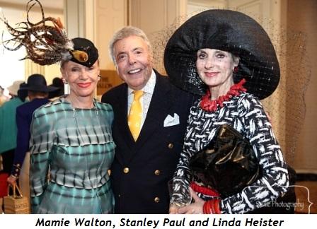 Mamie Walton, Stanley Paul and Linda Heister