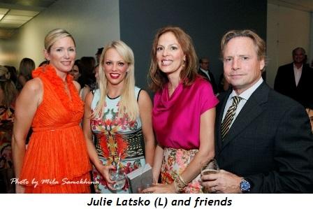 8 - Julie Latsko (L) and friends