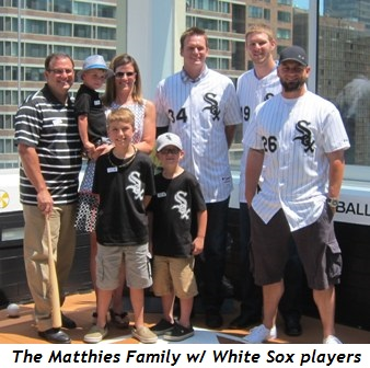 3 - The Matthies Family with the White Sox
