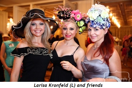 9 - Larisa Kronfeld (L) and friends