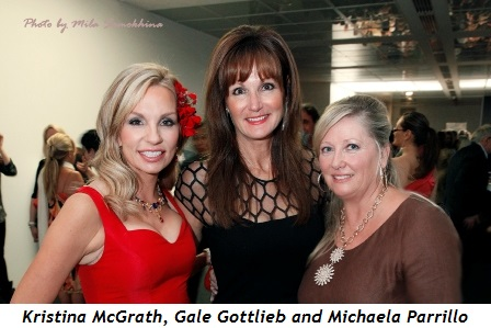 3 - Kristina McGrath, Gala Gottlieb and Michaela Parrillo