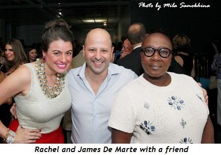 14 - Rachel and James De Marte and a friend