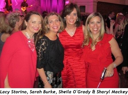 5 - Lacy Storino, Sarah Burke, Sheila O'Grady and Sharyl Mackey