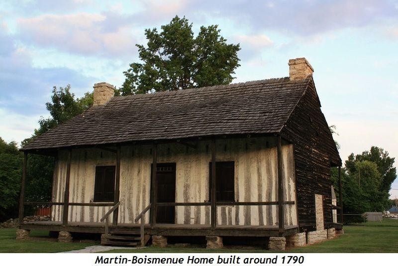 8 - Martin-Boismenue Home built around 1790
