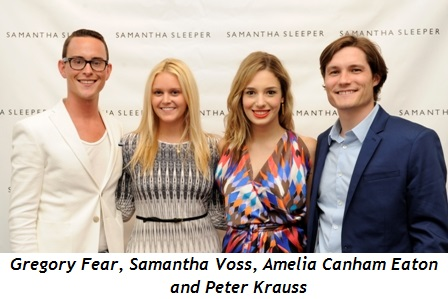 4 - Gregory Fear, Samantha Voss, Amelia Canham Eaton and Peter Krauss