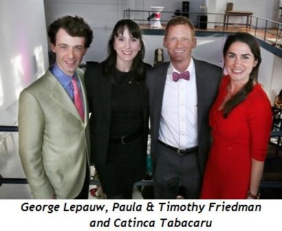 5 - George Lepauw, Paula and Timothy Friedman, Catinca Tabacaru