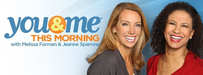 WCIU's You & Me This Morning co-hosts Melissa Forman and Jeanne Sparrow