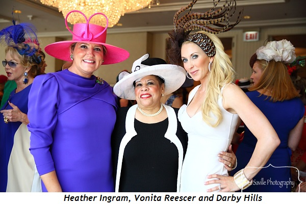 4 - Heather Ingram, Vonita Reescer and Darby Hills