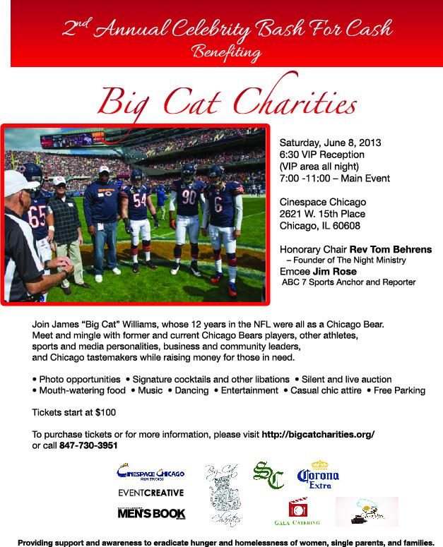 BigCatCharitiesEvite 6-8-13