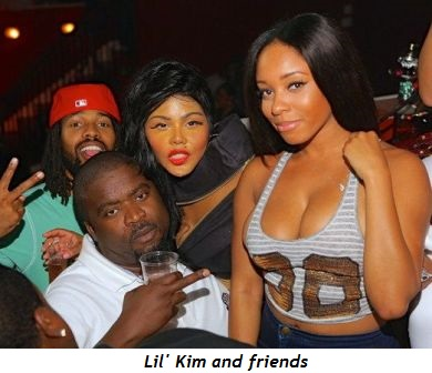 Lil' Kim and friends