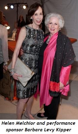 7 - Helen Melchior and performance sponsor Barbara Levy Kipper