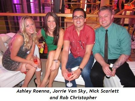 7 - Ashley Roenna, Jorrie Van Sky, Nick Scarlett and Rob Christopher